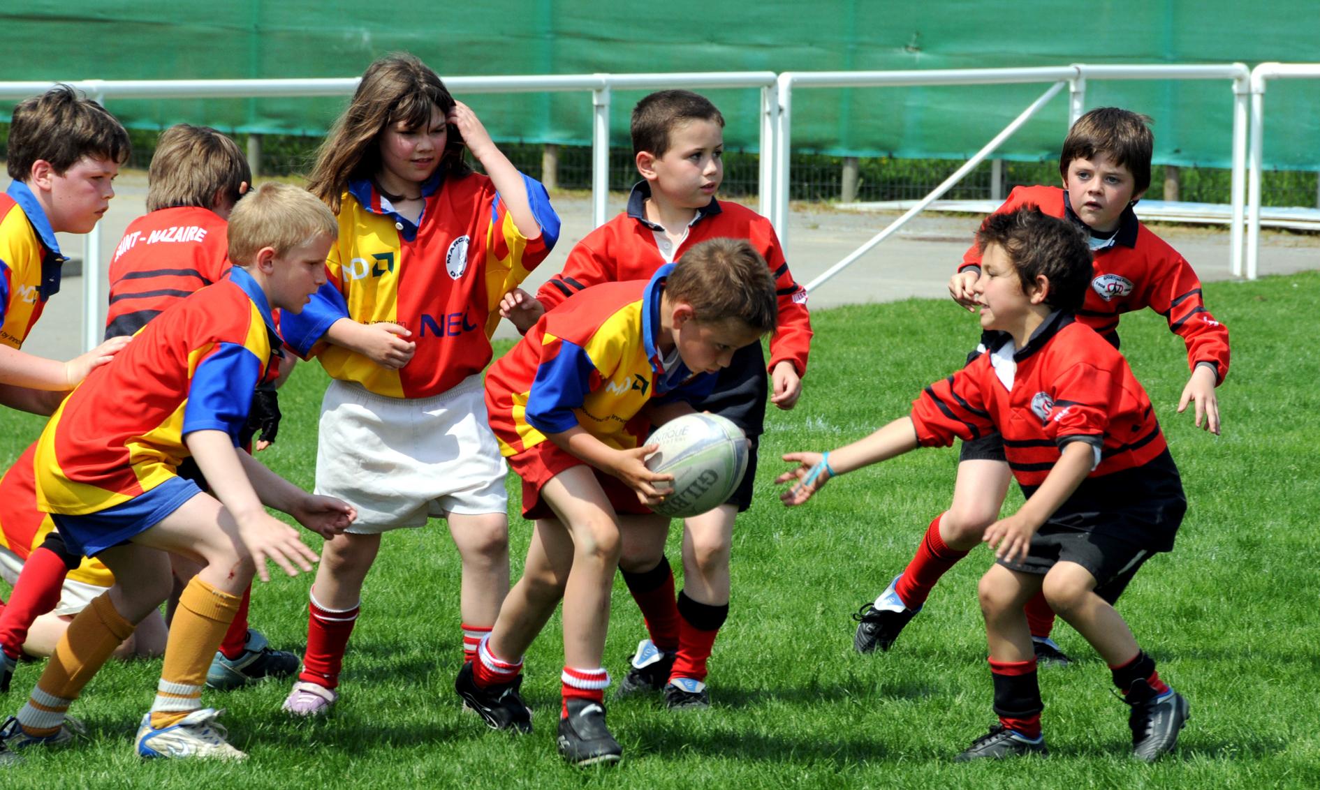 Rugby Saint-nazaire. Crédit Christian Robert - Ville de Saint-Nazaire