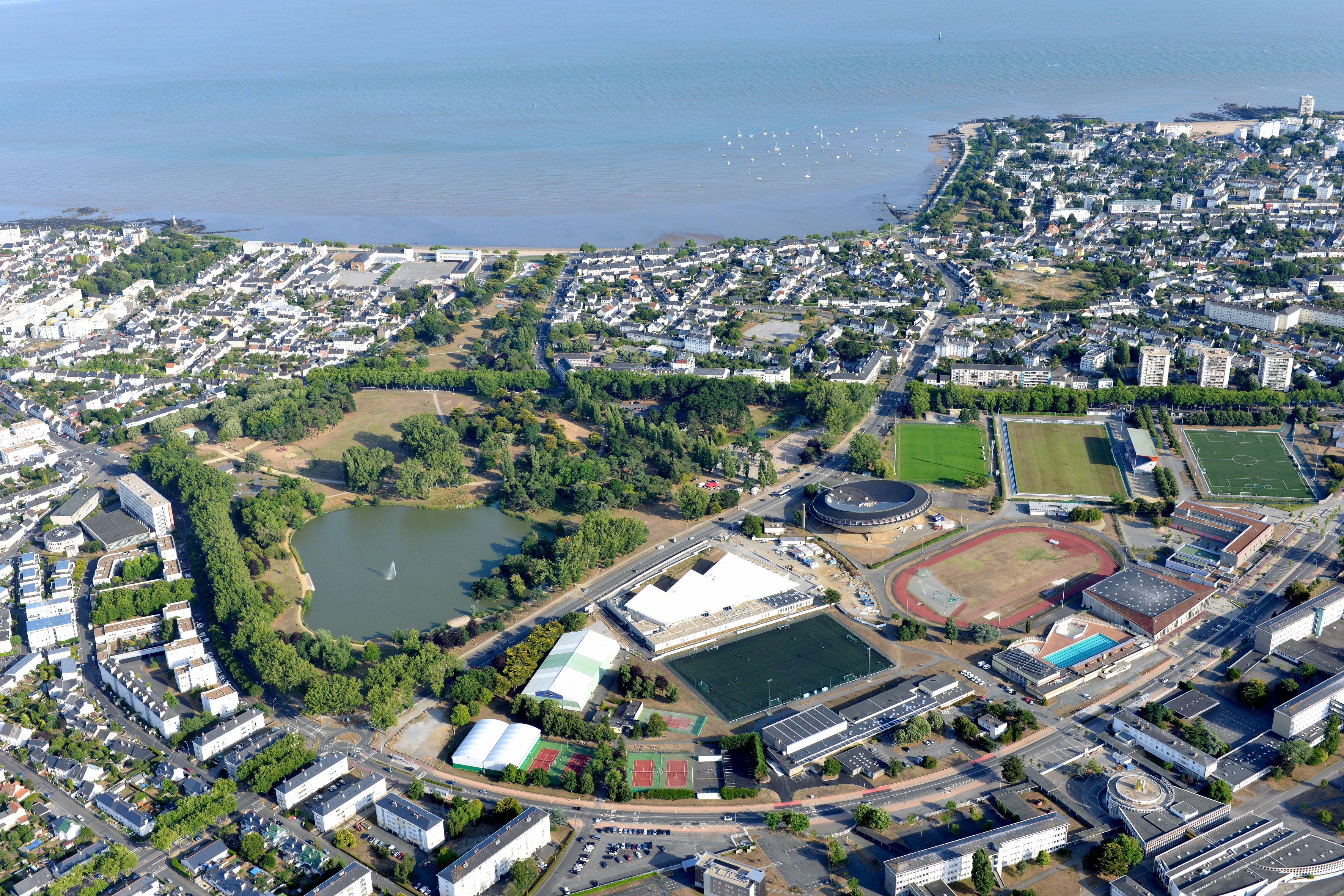 La plaine des sports de Saint-Nazaire. Crédit : Ville de Saint-Nazaire