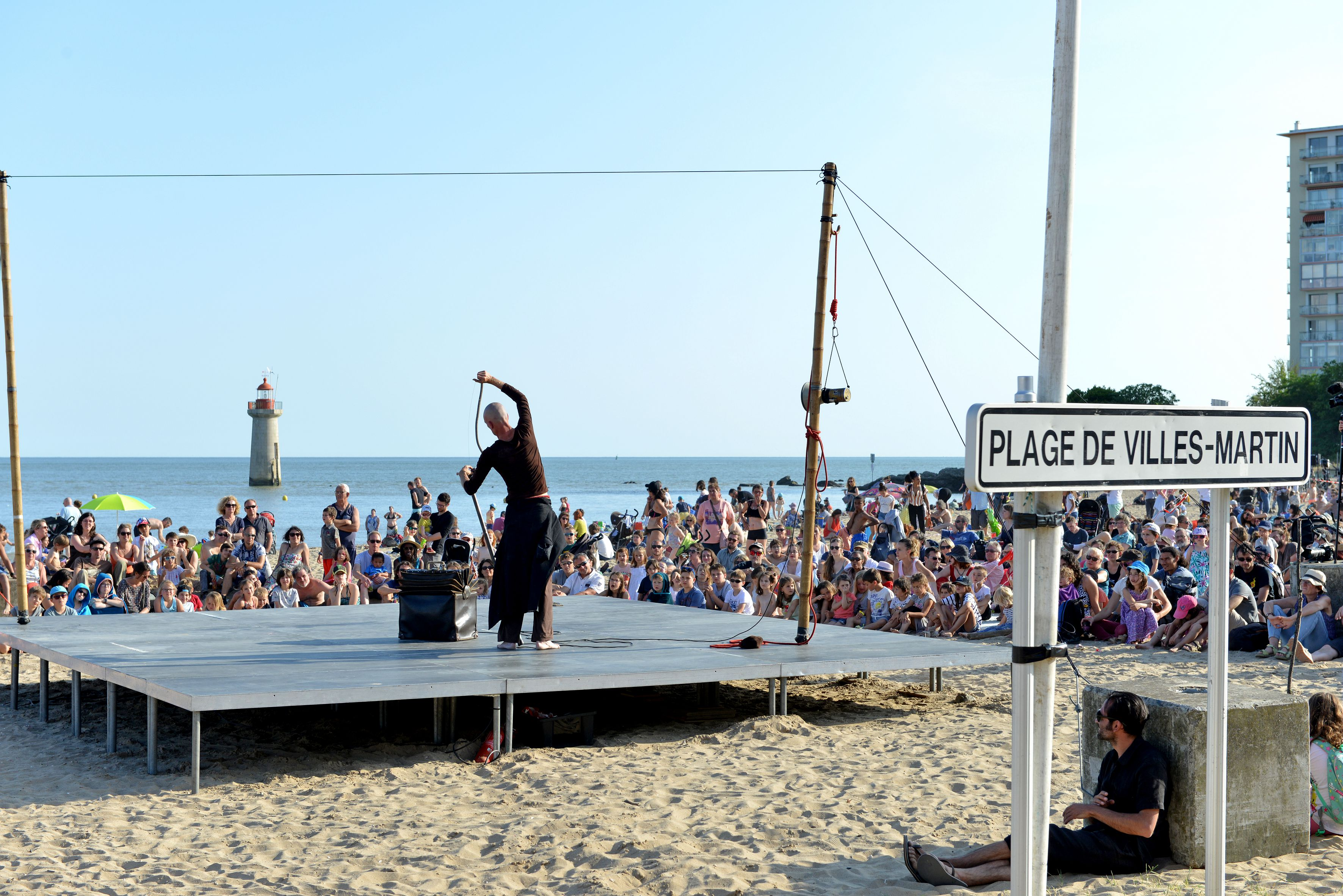 Grande Marée, un événement éco-conçu. Crédit : Martin Launay, Ville de Saint-Nazaire