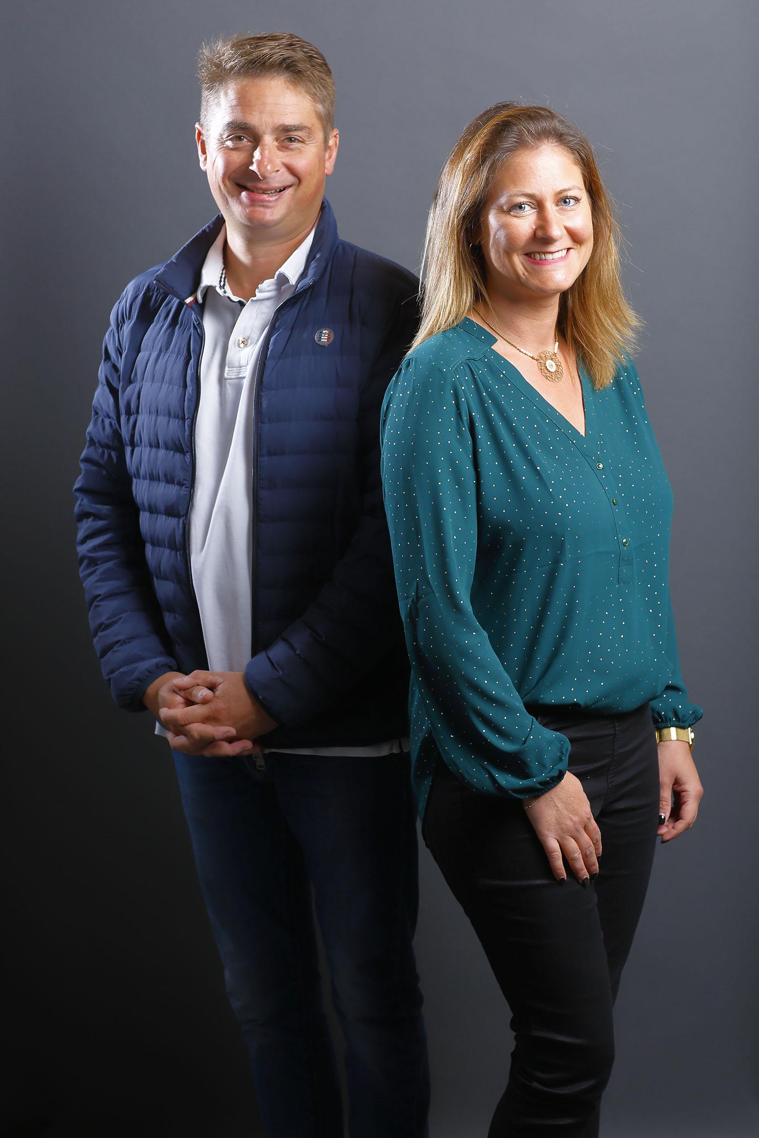 Aurélie et Guillaume Deniel remportent le défi service innovant pour le projet L'EFFET MER. Saint-Nazaire. Crédit : Bertrand Béchard