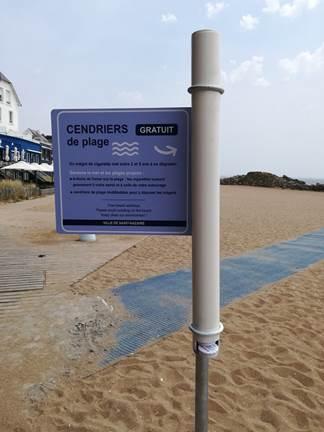Cendrier de plage